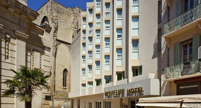 Extension et agrandissement hôtel Mercure Palais des Papes