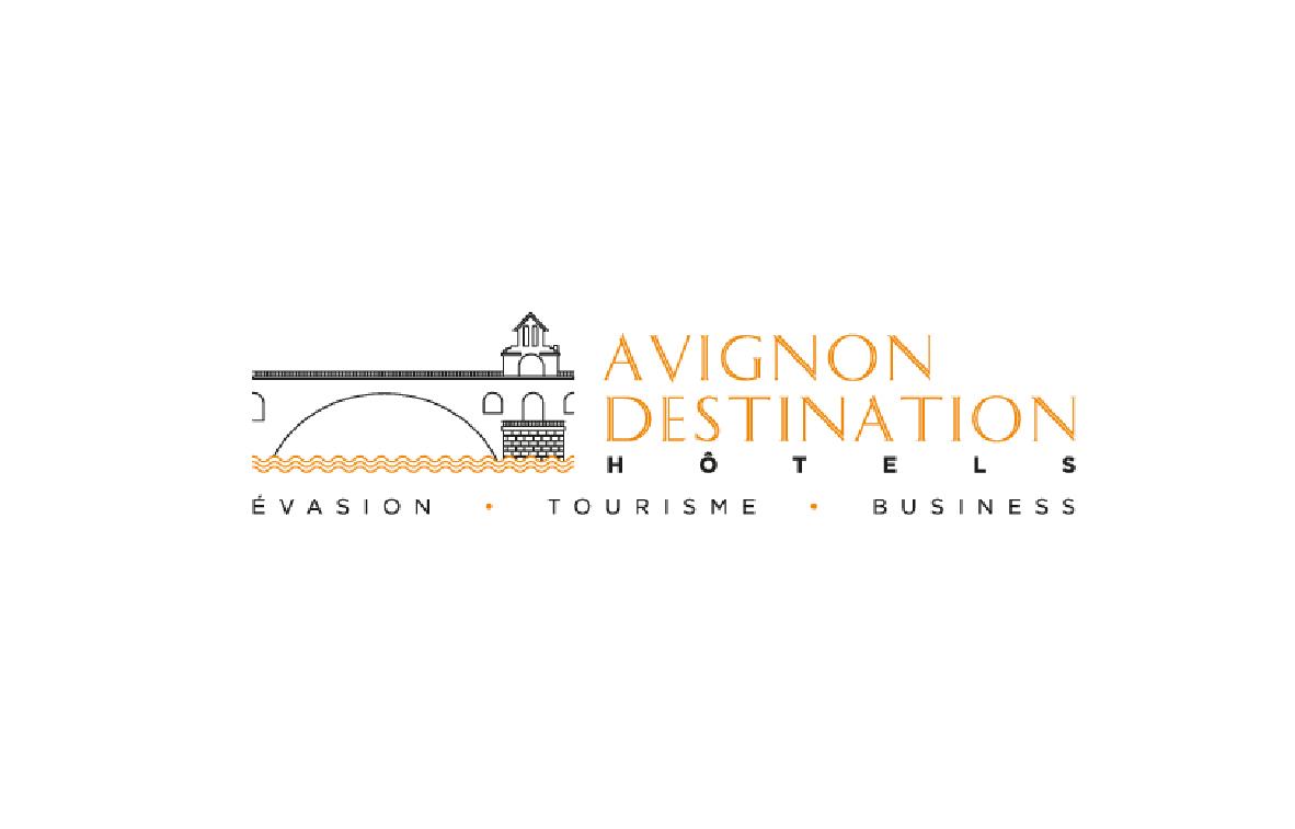 Logo Avignon Destination Hôtels
